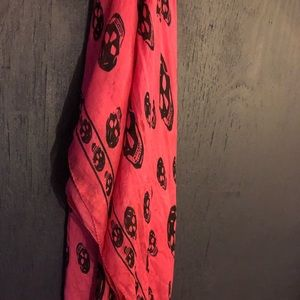 Authentic Alexander  McQueen Silk Scarf